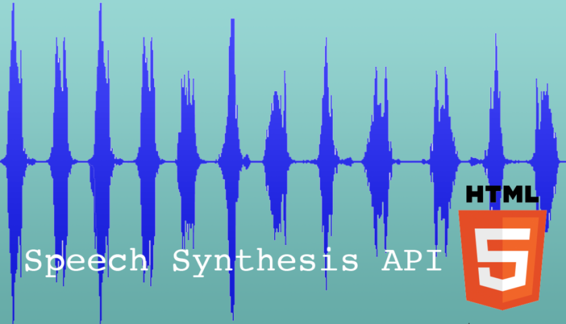 Using the Speech Synthesis API